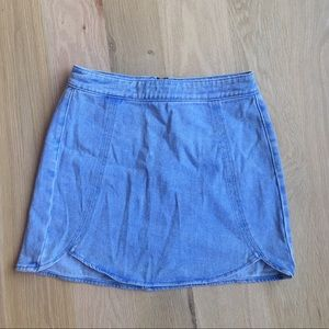 Kendall and Kylie Fitted Jean Skirt
